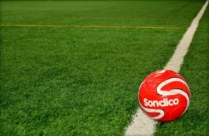 Soccer match photo