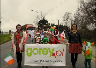 Poles in Gorey Parade 2017
