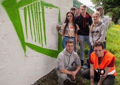 Ffestiwalowwe graffitti