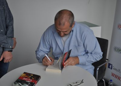 Meeting with a Polish writer – Marcin Ciszewski