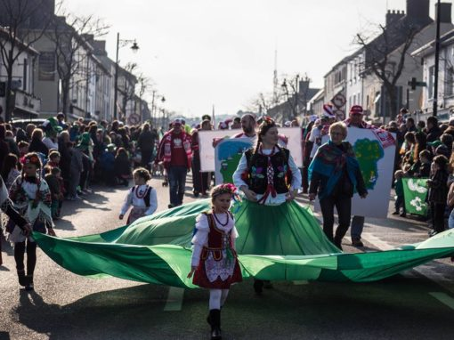 Gorey PL and Polish Community in Gorey St Patricks Parade 17.03.2016