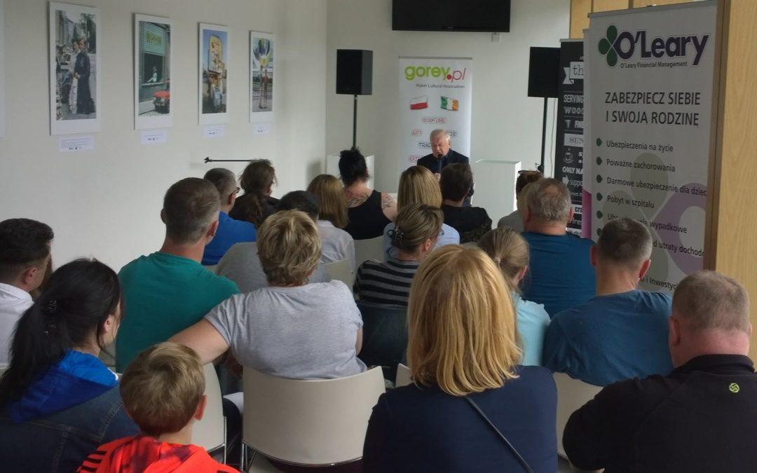 Spotkanie z aktorem Marianem Dziedzielem 21.05.2016