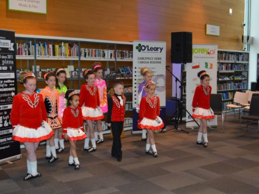 Irish Dance during PolskaEire Gorey Festival 2016