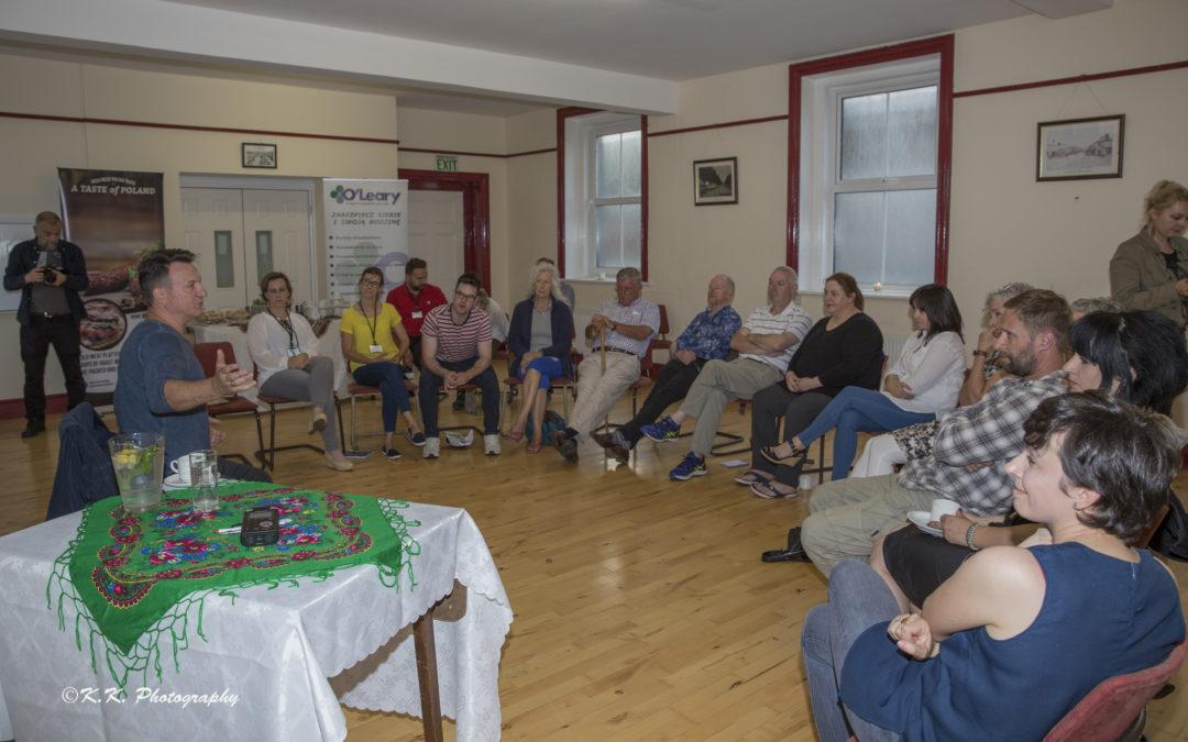 Spotkanie z Robertem Więckiewiczem dla członków lokalnych grup teatralnych