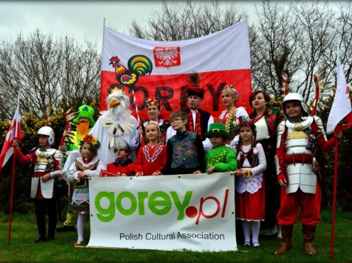Gorey St Patricks Day Parade 17.03.2017 Polish Team
