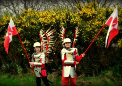 Polish Hussars in Ireland 27.03.2017