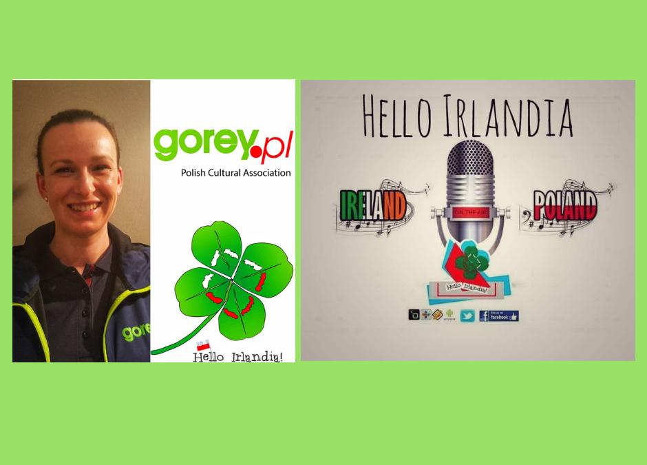 "Ola Riquet, Gorey.pl dla ""Hello Irlandia"""