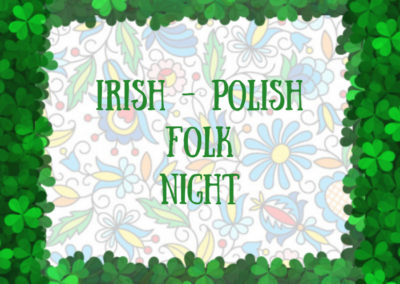 PolskaÉire Festival 2019 in Gorey, Irish-Polish Folk Night