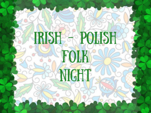PolskaÉire Festival 2019 in Gorey, Irish-Polish Folk Night