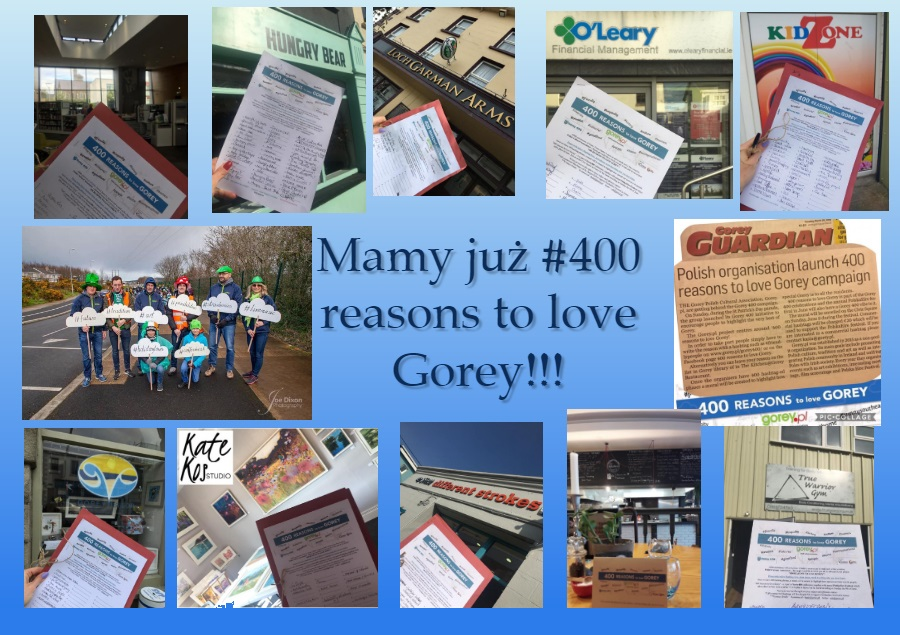 Mamy już #400 reasons to love Gorey!!!