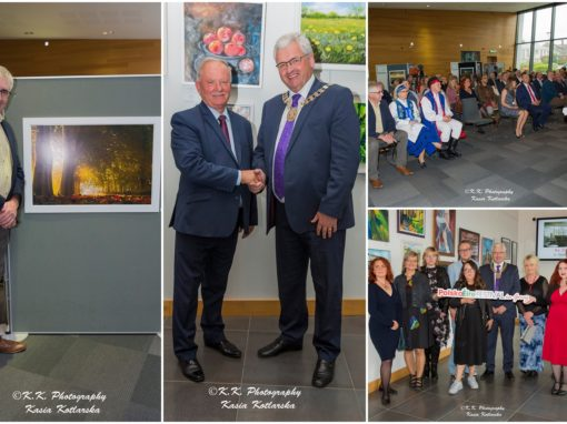 Polish artists in Ireland, photography exhibition of Joseph Dixon and delegation of councillors from Puck District in Poland – PolskaÉire Festival 2019 in Gorey.