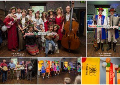 Fun in folk rhythms, Irish-Polish folk night, PolskaÉire Festival 2019 in Gorey.