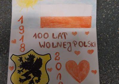 """""""Polska 100 lat Niepodległości""""-rozdanie nagród w konkursie  plastycznym oraz wykład"""