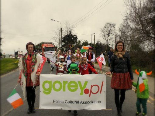 Poles in Gorey Parade 2017