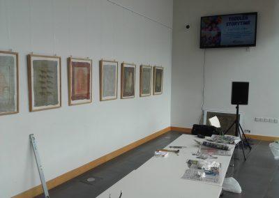 Przygotowania do wystawy