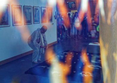 """Performance artystyczny Andrzeja Kaliny """"Pamięć i Tożsamość"""""""