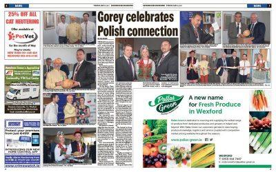 Prasa o festiwalu Polska Eire 2017 w Gorey