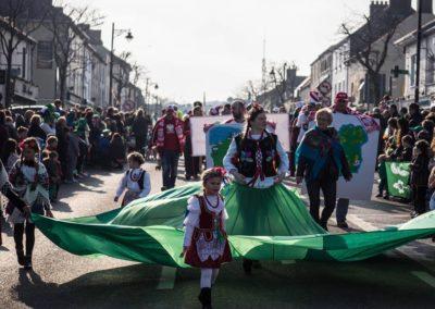 Gorey PL and Polish Community in Gorey St Patricks Parade 17.03.2016