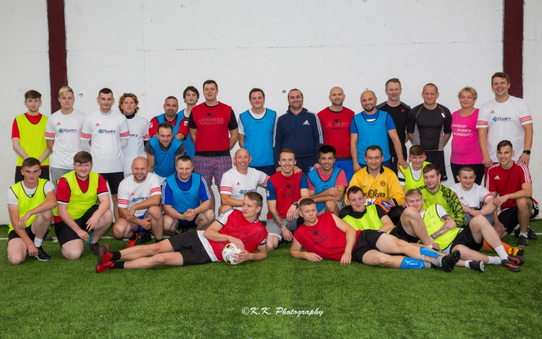 """Turniej Piłkarski """"Gorey Astro Cup 2018""""- rozpoczął sezon gier na hali."""