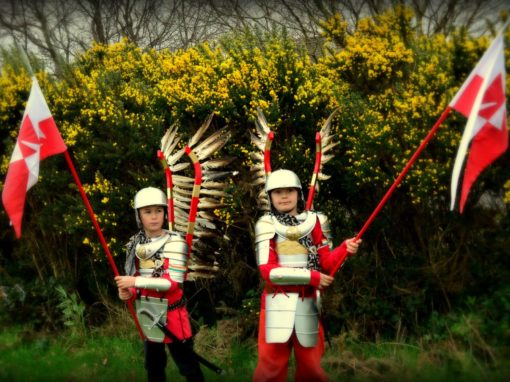 Polish Hussars in Ireland 27.03.2017