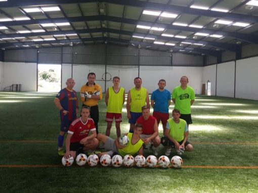 Soccer Training 2016