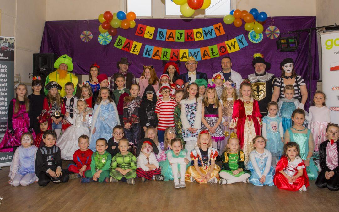 Jak dzieci bawiły się na 5-tym Bajkowym Balu Karnawałowym!