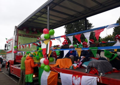 Gorey St Patricks Day Parade 17.03.2018 Polish Team