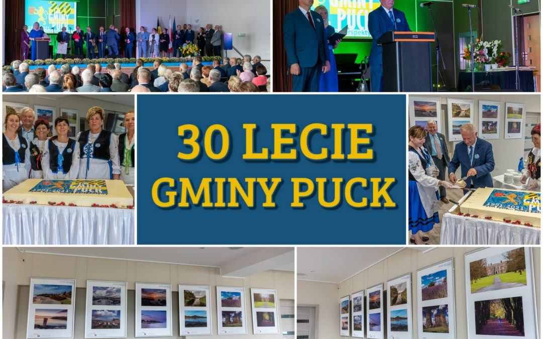 30-lecie samorządu Gminy Puck.