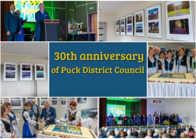 30th anniversary of Puck District Council. Photographs from Gorey and its surroundings are back in Poland.
